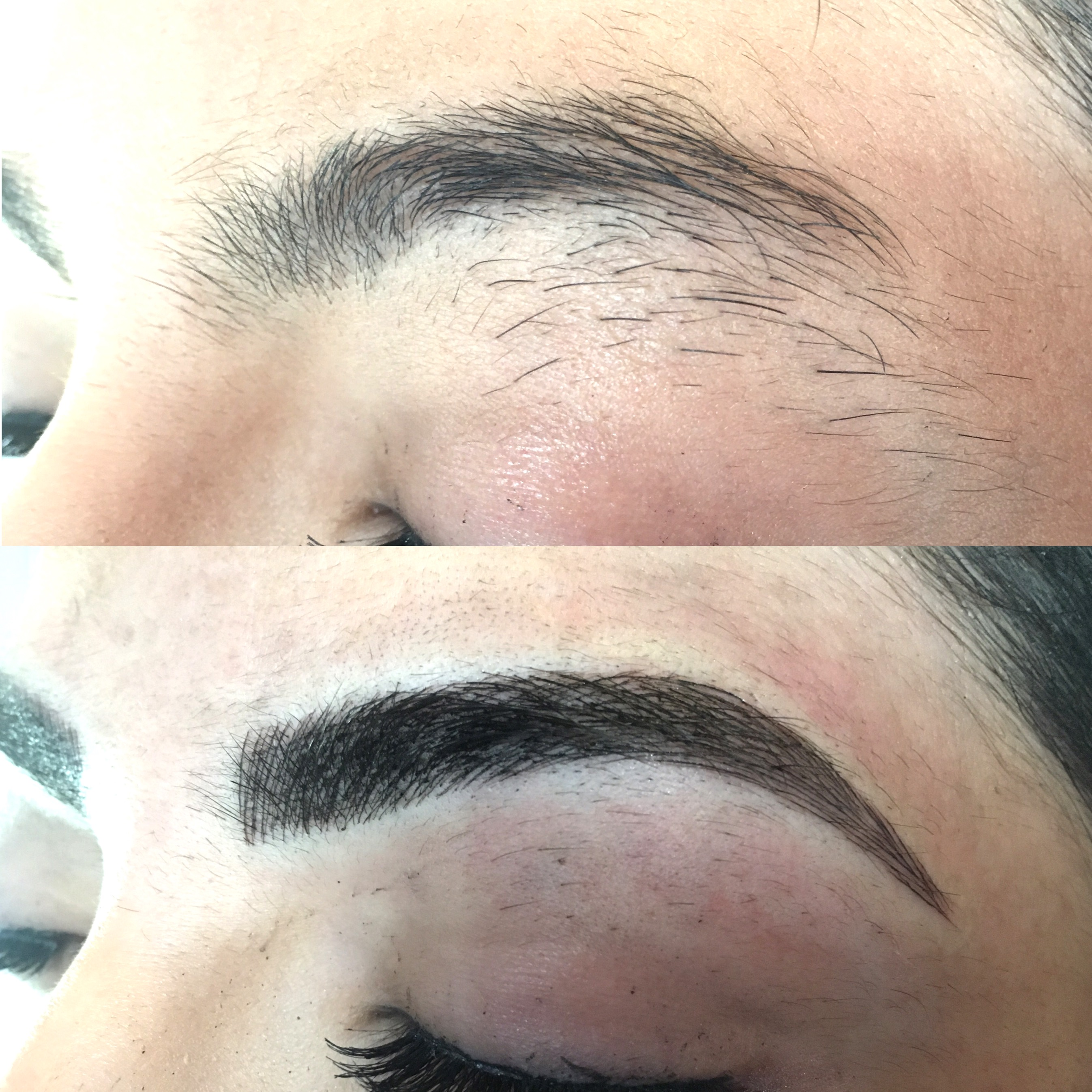 Hair stroke technique eyebrows new jersey - Initial Microblade 700