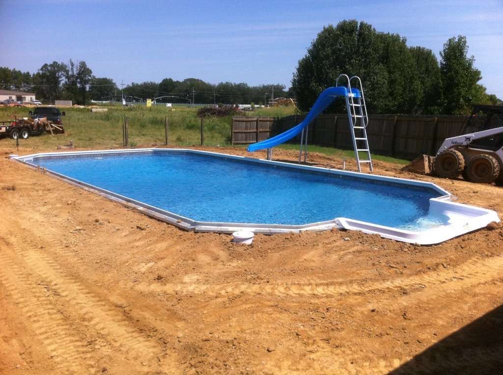inground pool construction splash pools