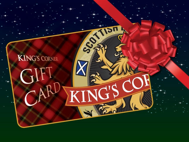 King's Corner gift cards are now available!